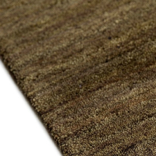 Χαλί wool sand Dark Brown